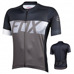 MTB dres FOX Ascent SS Jersey Charcoal 2016