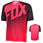 MTB dres FOX Flow SS Jersey Neon Red 2016