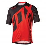 MTB dres FOX Livewire SS Jersey Red 2017