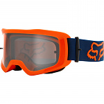 MX brýle FOX Main II Stray Goggle Flo Orange 2021