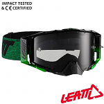 MX brýle LEATT Velocity 6.5 Black Green