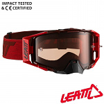 MX brýle LEATT Velocity 6.5 Ruby Red