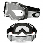 MX brýle Oakley Airbrake MX Matte White Speed