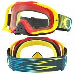 MX brýle Oakley Crowbar Shockwave Red Yellow Blue