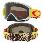 MX brýle Oakley O2 MX Checked Finish Yellow Red