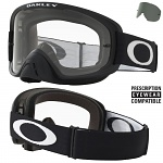 MX brýle Oakley O2 MX Matte Black Clear + Dark Grey Lens