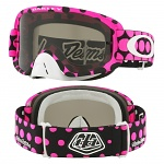 MX brýle Oakley O2 MX TroyLeeDesign Faded Dot Pink