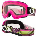 MX brýle Oakley Oframe Circuit Pink Green
