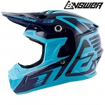 MX helma ANSWER AR-1 Edge Helmet Reflex Astana 2019