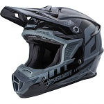 MX helma ANSWER AR-1 Helmet Grey Black 2018