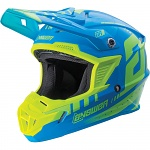 MX helma ANSWER AR-1 Helmet Yellow Blue 2018