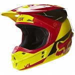 MX helma FOX V1 Mako Helmet Yellow 2016