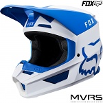 MX helma FOX V1 Mata Helmet Blue White 2019