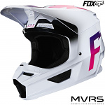 MX helma FOX V1 Werd Helmet White 2020
