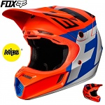 MX helma FOX V3 Creo Helmet Orange 2017