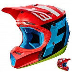MX helma FOX V3 Creo Helmet Red 2017