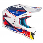 MX helma KINI RedBull Competition Helmet Navy White 2017