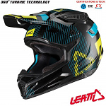MX helma Leatt GPX 4.5 V19.2 Black Lime 2019