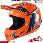 MX helma Leatt GPX 4.5 V20 Orange Denim 2018
