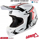 MX helma Leatt GPX 4.5 V20 White Black 2018