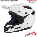 MX helma Leatt GPX 5.5 Composite White