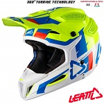 MX helma Leatt GPX 5.5 Composite V10 Lime White 2018