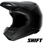MX helma SHIFT Whit3 Helmet Matte Black 2019
