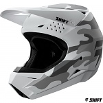 MX helma SHIFT Whit3 Helmet White Camo 2019