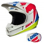 MX helma SHIFT Whit3 Tarmac Helmet White 2017