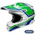 MX helma Shoei VFX-W Damon TC-4 Green