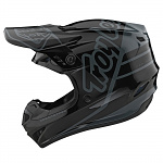 MX helma TroyLeeDesigns GP Helmet Silhouette Black Grey 2020