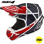 MX helma TroyLeeDesigns SE4 Composite Metric Red Navy 2019 + brýle zdarma