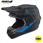MX helma TroyLeeDesigns SE4 Polyacrylite Metric Black 2019