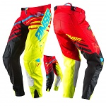 MX kalhoty ANSWER Alpha Pant Red Acid Black 2017