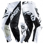 MX kalhoty ANSWER Elite Pant Black White 2018