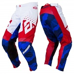 MX kalhoty ANSWER Elite Pant Discord Red White 2019