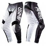 MX kalhoty ANSWER Syncron Air Pant White Black White 2017