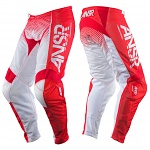 MX kalhoty ANSWER Syncron Air Pant Red White 2017