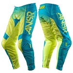 MX kalhoty ANSWER Syncron Air Pant Yellow Blue 2017