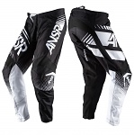 MX kalhoty ANSWER Syncron Pant Black White 2017