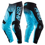 MX kalhoty ANSWER Syncron Pant Blue Black 2017