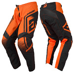 MX kalhoty ANSWER Syncron Pant Drift Flo Orange Charcoal 2019