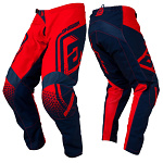 MX kalhoty ANSWER Syncron Pant Drift Red Midnight 2019