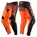 MX kalhoty ANSWER Syncron Pant Orange Black 2017