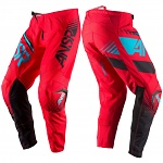 MX kalhoty ANSWER Syncron Pant Red Teal 2017