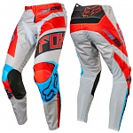 MX kalhoty FOX 180 Falcon Pant Grey Red 2017