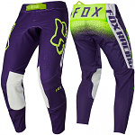 MX kalhoty FOX FlexAir Honr Pant Purple Yellow 2020