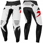 MX kalhoty SHIFT 3Lack Label Mainline Pant Black White 2019
