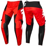 MX kalhoty SHIFT Whit3 York Pant Red 2019