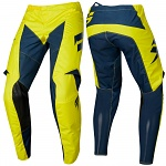 MX kalhoty SHIFT Whit3 York Pant Yellow Navy 2019
